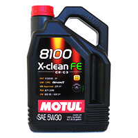 MOTUL 8100 X-Clean FE 5w-30 100% Synth